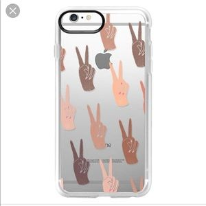 Casetify peace sign ✌🏻iPhone case